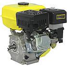 Двигун бензиновий Кентавр ДВЗ-210БШЛ Двигун на культиватор, генератор, мотопомпу., фото 3