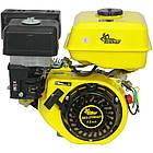 Двигун бензиновий Кентавр ДВЗ-210БШЛ Двигун на культиватор, генератор, мотопомпу., фото 4