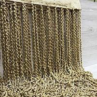Штори спіраль веселка 300x280 cm Кавові (NS-4), фото 4