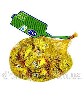 Шоколадні пасхальні курчата Only в сіточці, 100 р. (14 шт) Австрія