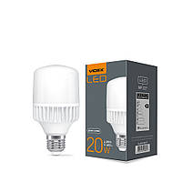 LED лампа VIDEX A65 20W E27 5000K 220V VIDEX, 25086, фото 1