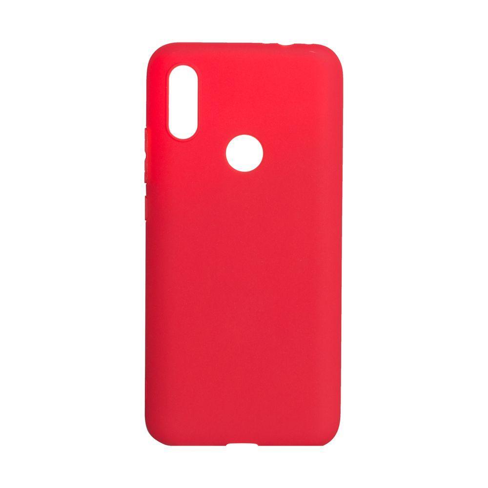 Чехол для Xiaomi Redmi 7 красный SMTT / Чехол для Ксяоми Сяоми Ксиоми 7