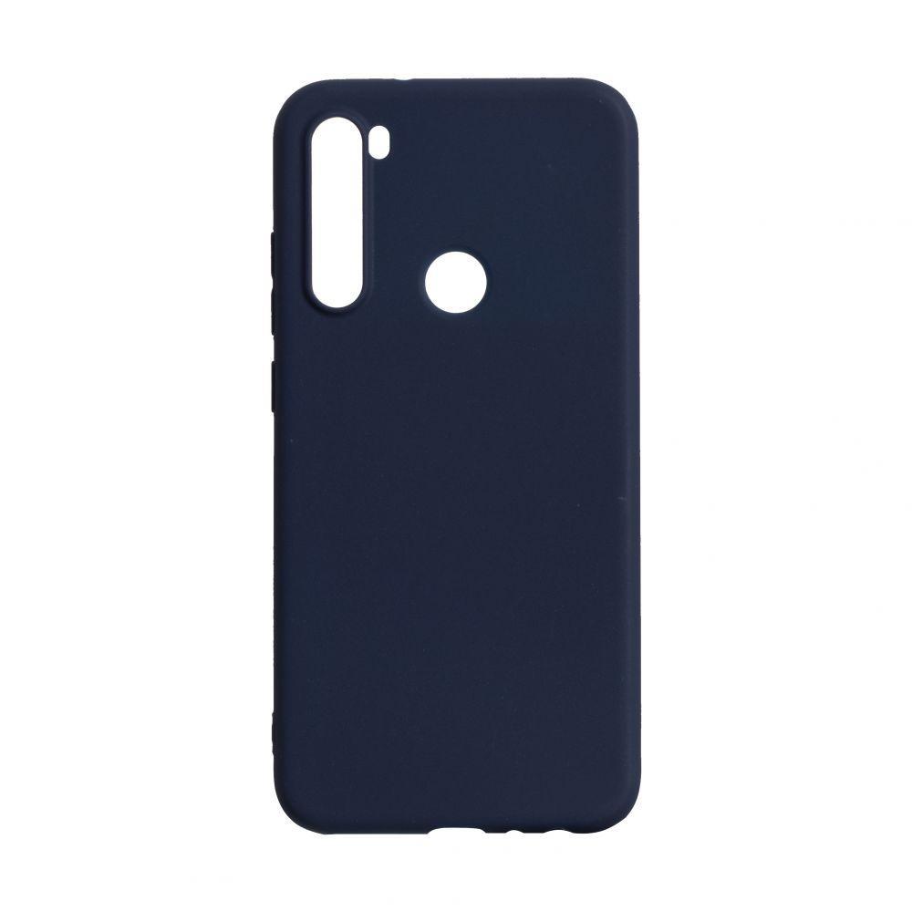Чехол для Xiaomi Redmi Note 8 синий SMTT / Чехол для Ксяоми Сяоми Ксиоми 8