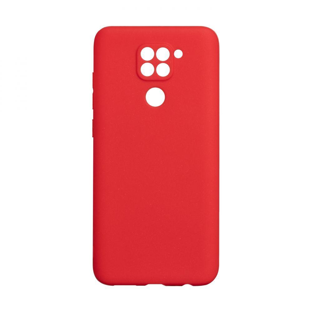Чехол для Xiaomi Redmi Note 9 красный SMTT / Чехол для Ксяоми Сяоми Ксиоми ноут 9