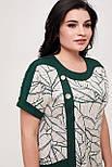Сукня ТМ ALL POSA Олеся темно-зелений 50 (100566), фото 4