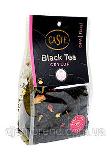 Чай черный с розой Casfe Black Tea Ceylon, 70 г.