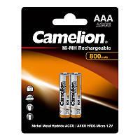 Аккумулятор Camelion R03-2BL Ni-MH 800 мАч (2 шт)