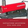 Запчастини ARCOTHERM EC22 2006-2018р. для дизельної гармати