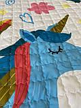"""Безкоштовна доставка! Ігровий килим-мішок """"Єдиноріг"""" з дефектом, фото 3"""