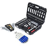 Набор инструментов 108 ед. PROFLINE 61085 + набор ключей 12 ед. Miol 51-710+Набор удар.отверток 6 шт STS-6006