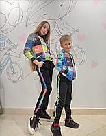 Костюм спортивный дитячий унісекс в яскравих кольорах від 4 до 12 років
