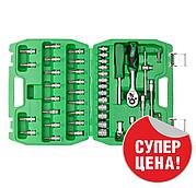 """Набор инструментов 46шт, 1/4"""" INTERTOOL ET-6046SP"""