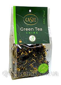Чай зеленый с календулой Casfe Green Tea Сhine, 70 г.