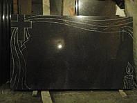 Гранитный памятник двойной горизонтальный образец №18