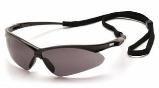 Очки спортивные с ремешком PMXtreme чёрные