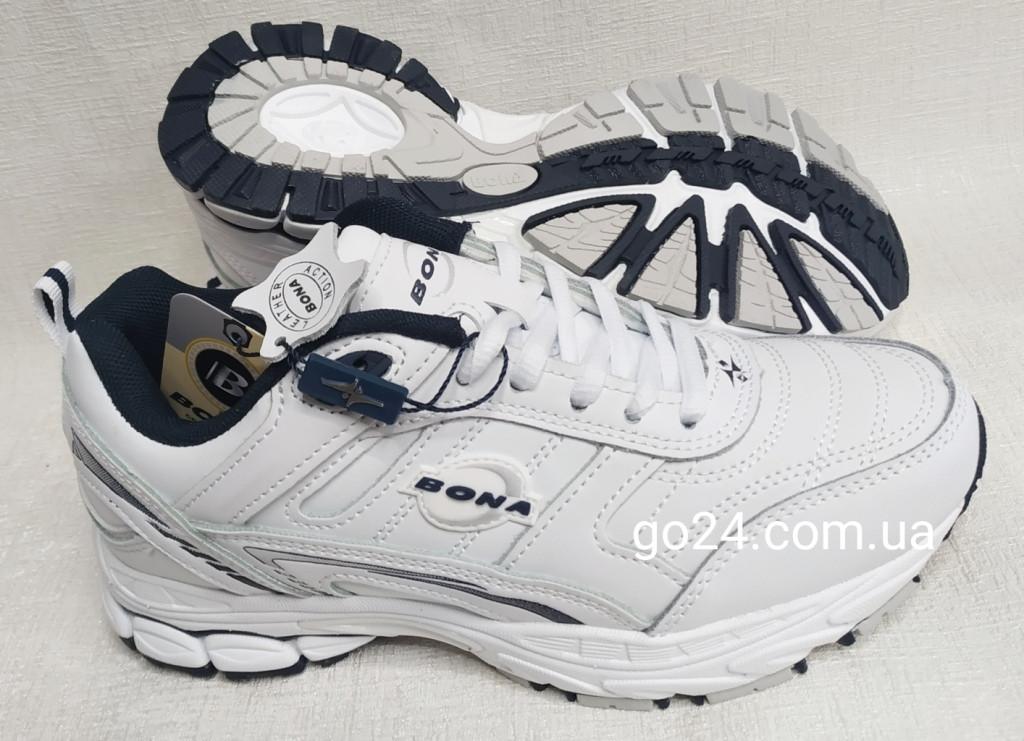 Кроссовки Bona 805а-2 женские белые