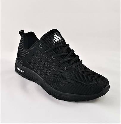 Кросівки Чоловічі Adidas Runner Boost Чорні Адідас (розміри: 41,42,43,44,45,46) Відео Огляд, фото 3