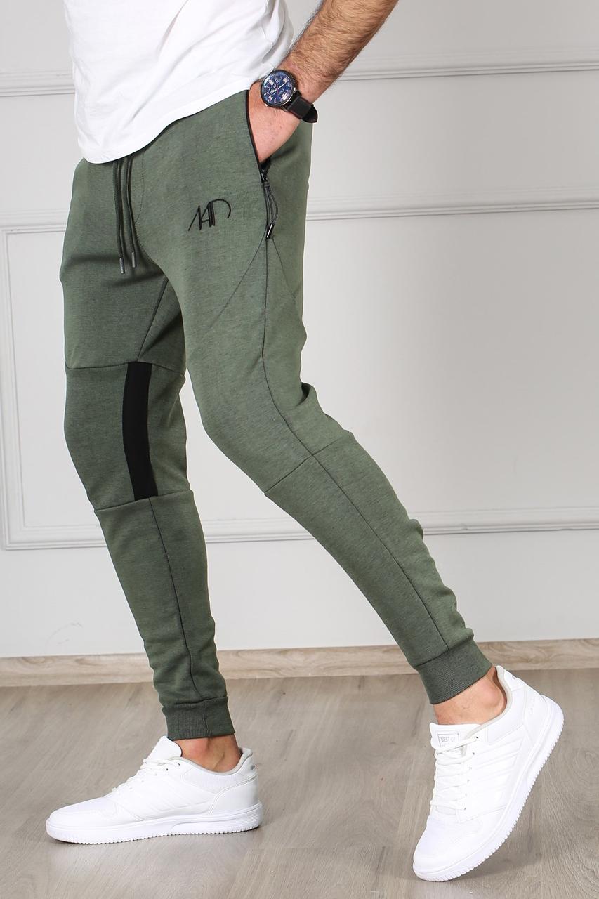 Мужские спортивные штаны хаки Madmext
