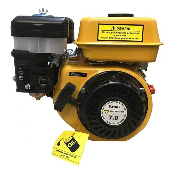 Двигун бензиновий Forte F210G Двигун на культиватор, генератор, мотопомпу.