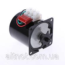 Двигатель для инкубатора 60KTYZ-7 220В. 2,5 об/мин. 18 Вт.