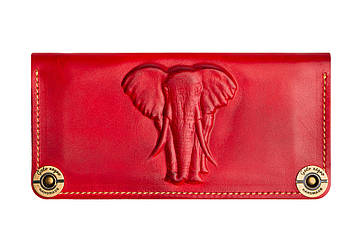 Жіночий шкіряний гаманець Elephant
