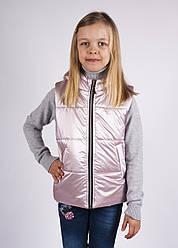 Жилет для девочек,  размеры на рост 116 -152