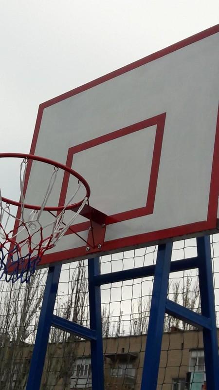 Щит баскетбольний вуличний 620*500, під замовлення.