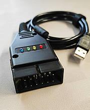 USB K-Line адаптер ( GM12 ) профессиональный , поддержка Двигатель , ABS , Airbag . FT232RL + L9637D .