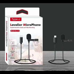 Микрофон петличный lavalier GL-121 Type-C