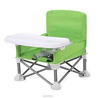 Складной тканевый стол для кормления baby seat ЗЕЛЕНЫЙ