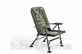 Карповое кресло Mivardi CamoCode Quattro до 160 кг (M-CHCCQ)
