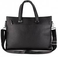 Мужская сумка-портфель для ноутбука и документов Tiding Bag K23357-1-black
