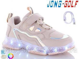 Кроссовки для девочки LED Jong Golf р.31-36  КД-648