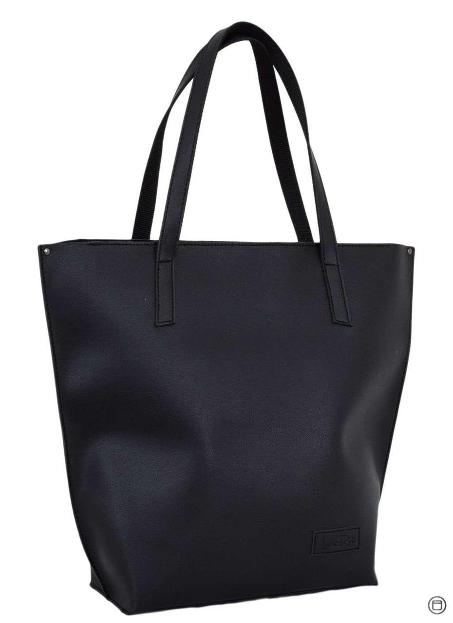 Велика жіноча сумка чорна 641