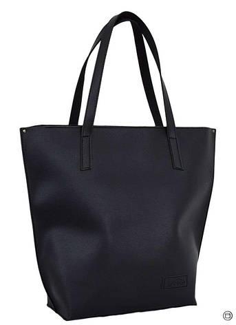 Велика жіноча сумка чорна 641, фото 2