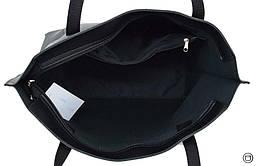 Велика жіноча сумка чорна 641, фото 3