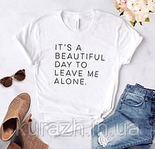 Женская футболка с принтом именная