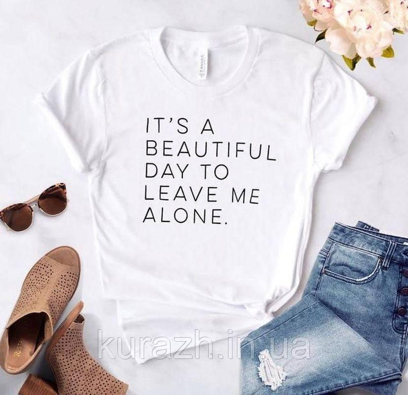 Жіноча футболка з принтом іменна