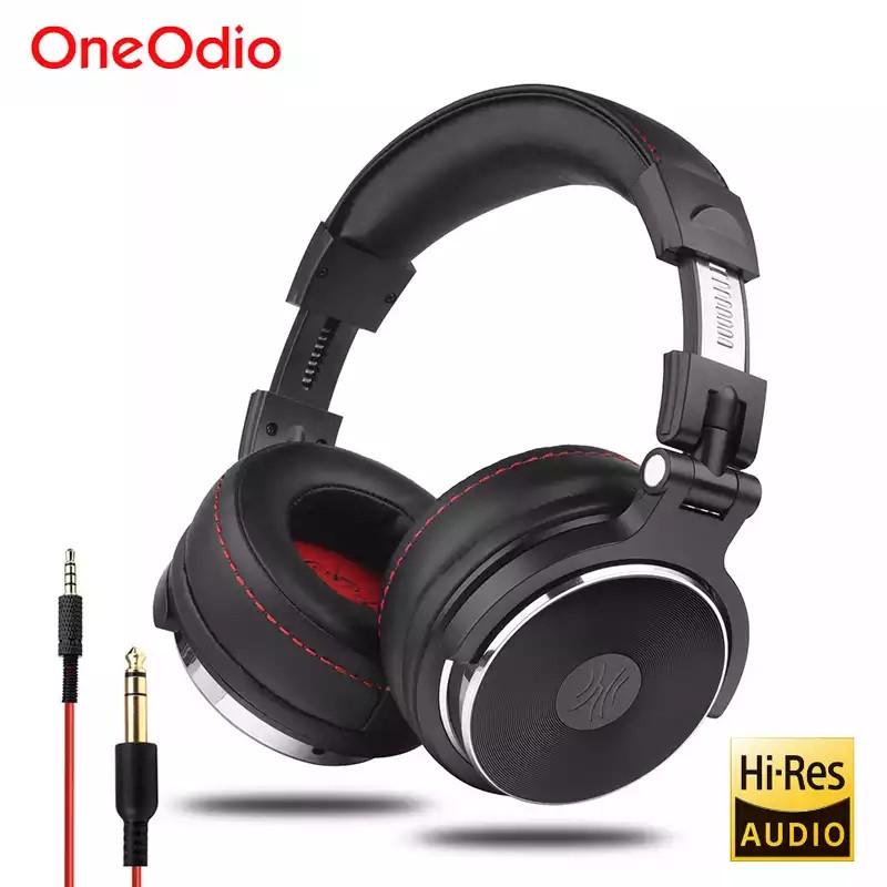 Наушники OneOdio Studio Pro 50 Black проводные профессиональные студийные наушники с микрофоном мониторные