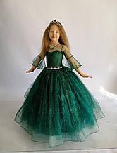 Елочка Длинное нарядное платье Каролина  на 6-7 лет