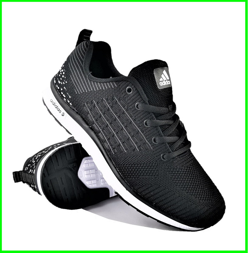 Кросівки Чоловічі Adidas Runner Boost Чорні Адідас (розміри: 41,42,43,44,45,46) Відео Огляд