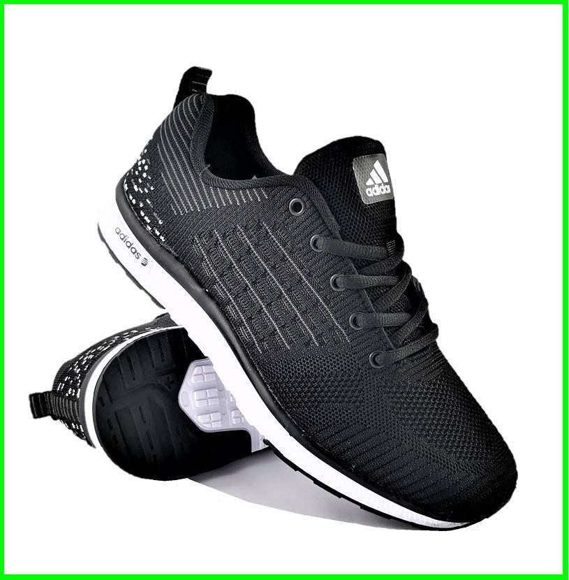 Кросівки Чоловічі Adidas Runner Boost Чорні Адідас (розміри: 41,42,43,44,45,46) Відео Огляд, фото 2