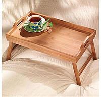 Столик бамбуковий для сніданку, фото 1
