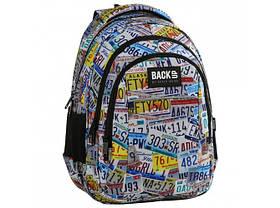 Рюкзак школьный BackUP 42x30x18 см 24 л Разноцветный (PLB2H41)