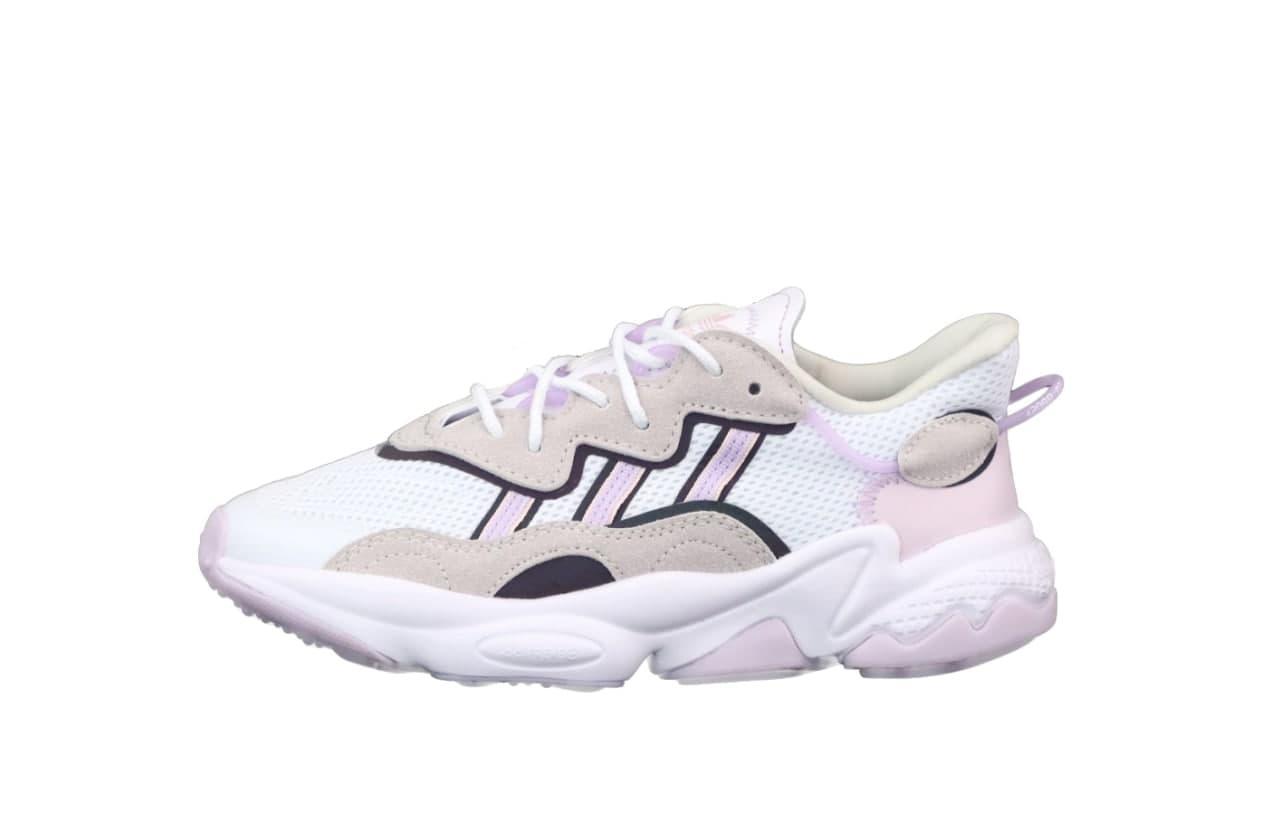 Женские кроссовки Adidas Ozweego (белые) К12520 белые качественные модные кроссы