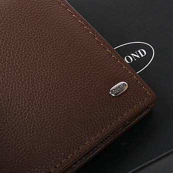 Мужской кошелек Classic кожа DR. BOND MSM-5 коричневый, фото 2