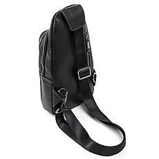 Рюкзак Міський шкіряний BRETTON BE 2002-3 чорна, фото 2