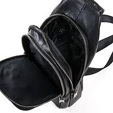 Рюкзак Міський шкіряний BRETTON BE 2002-3 чорна, фото 3