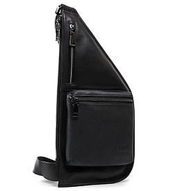 Рюкзак Міський шкіряний BRETTON 1006-6 чорна