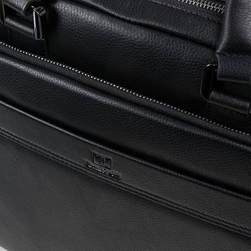 Сумка Мужская Портфель кожаный BRETTON BE 1603-1 черный, фото 2